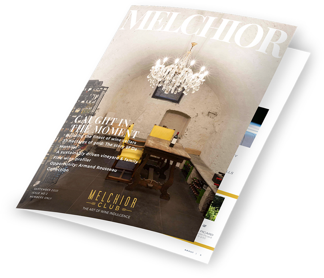 An open shot of the Melchior Magazine